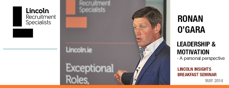 Ronan O'Gara Lincoln Recruitment