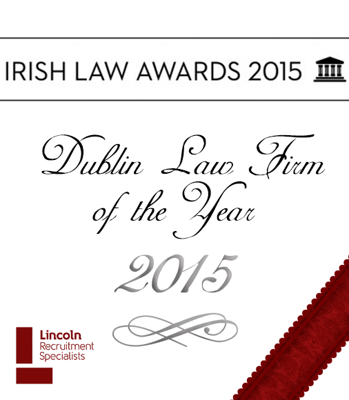 Lincoln – Proud Sponsor of the Irish Law Awards 'Dublin Law Firm of the Year'