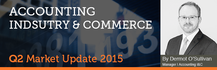 Accounting Industry & Commerce Market Update Q2 2015