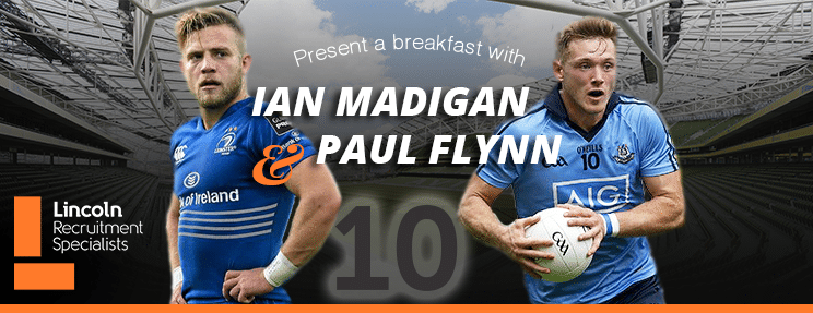 UPCOMING EVENT: Breakfast Seminar with Ian Madigan & Paul Flynn