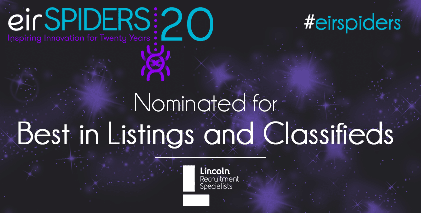 EirSpiders Finalist Lincoln Recruitment