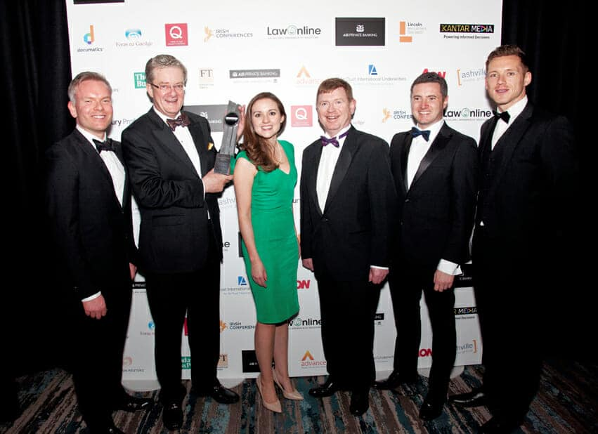 Photo: Paul Sherwood AIB Private Banking. Irish Law Awards 2016, held at the Doubletree Hilton Hotel, Dublin. May 2016